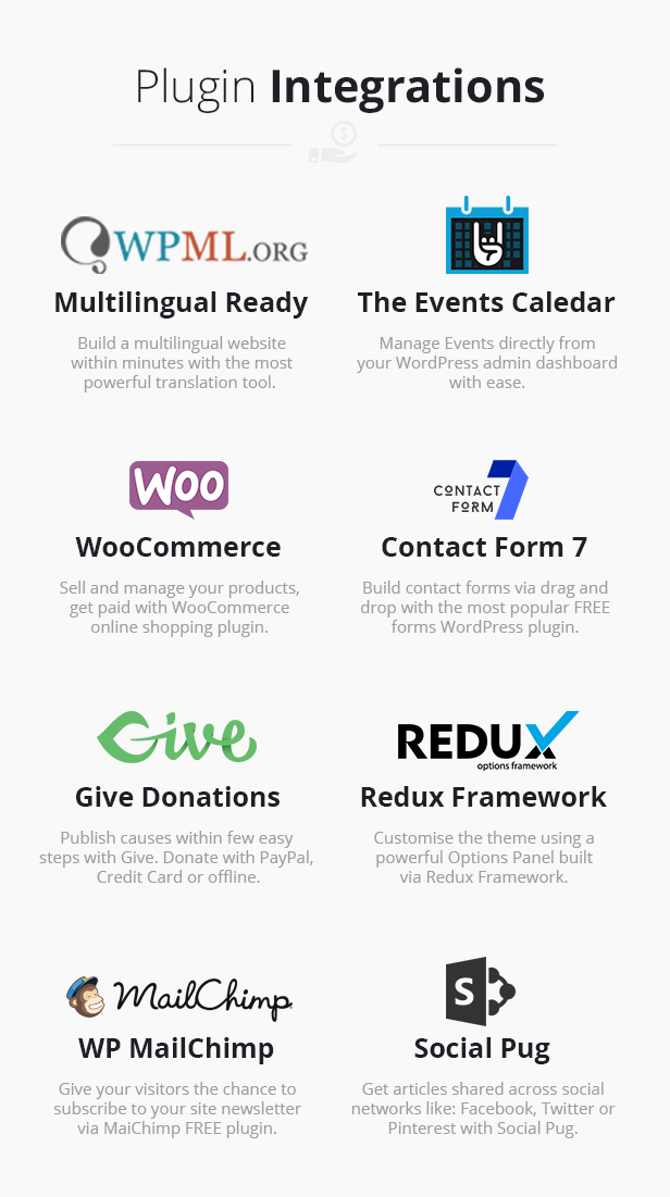 Fundraising - Charity/Donations WordPress Theme - 4