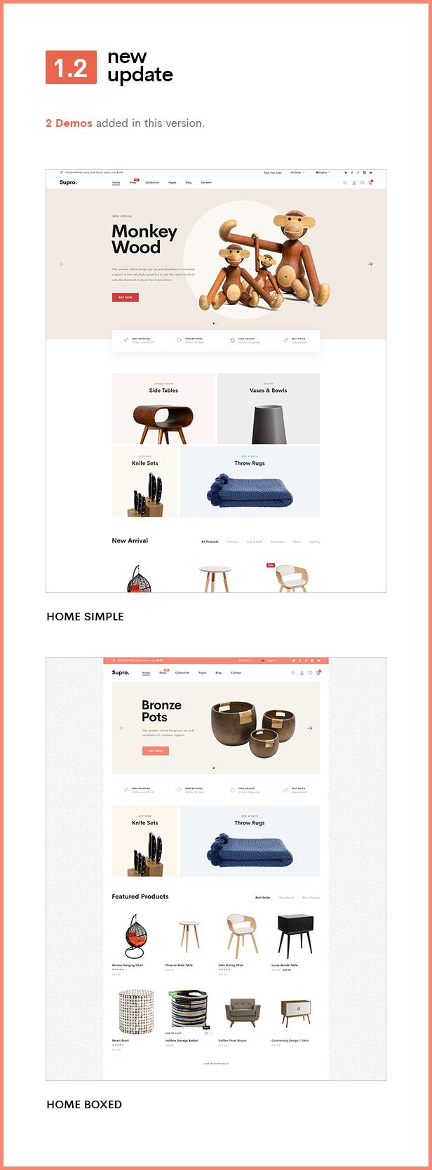 Supro - Minimalist AJAX WooCommerce WordPress Theme - 7