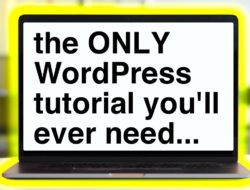 How to Make a WordPress Website 2019 Tutorial! EASY