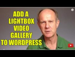 How To Add A LightBox Video Gallery To WordPress – Tutorial