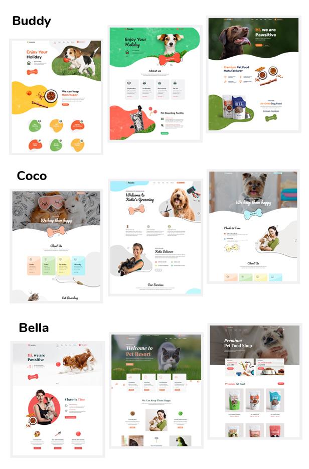 Pawsitive - Pet Hotel & Shop WordPress Theme - 3