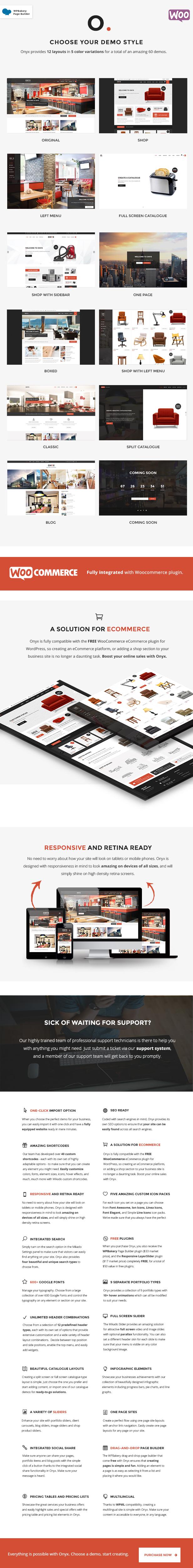 Onyx - Multi-Concept Business Theme - 1