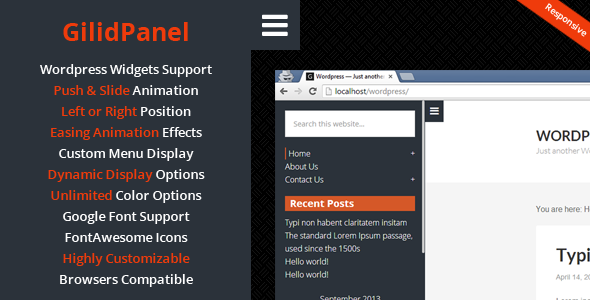 WP leFooter - WordPress SlideUp Footer Plugin - 8