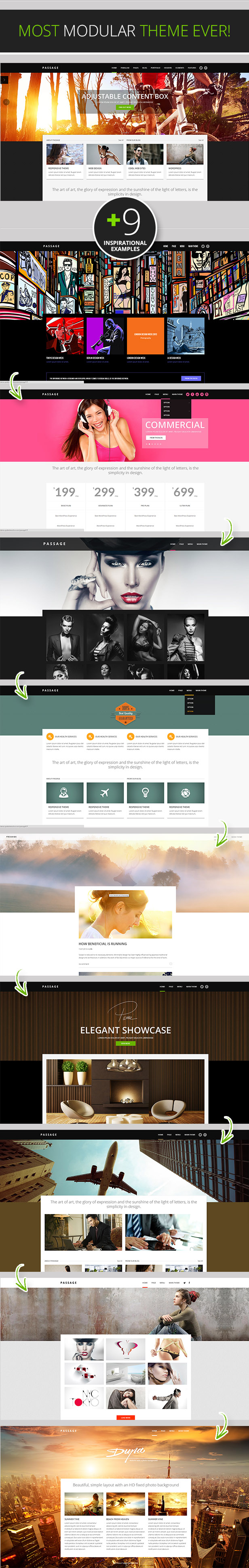 Passage - Responsive Retina Multi-Purpose Theme - 1