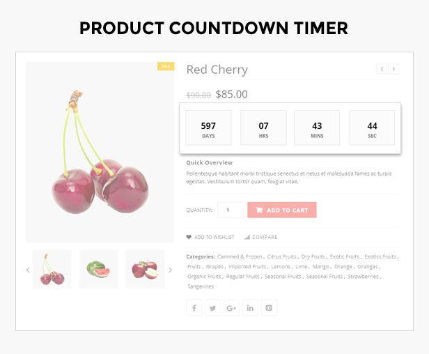 fruits shop theme