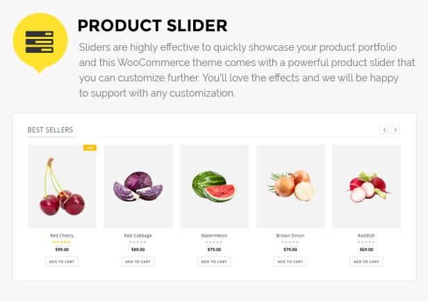 fruit store website wordpress