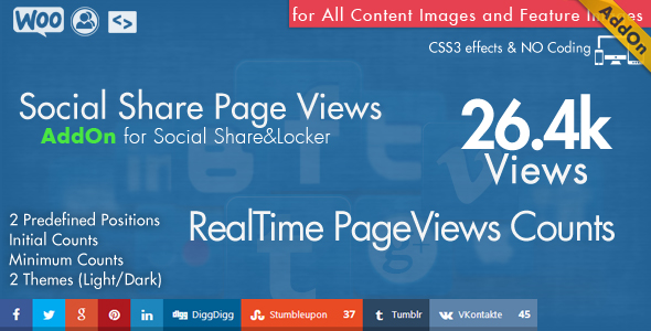 Social Share top Bar AddOn - WordPress - 8