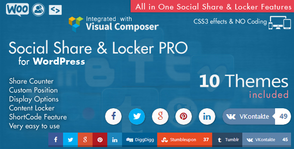 Social Share top Bar AddOn - WordPress - 7