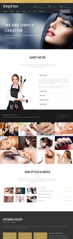 Depilex Salon - Parlour - Spa - Gym - Multipurpose WP Theme - 2