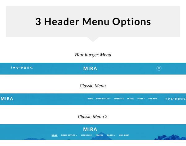 Mira - A Photo Stories Blog WordPress Theme - 1