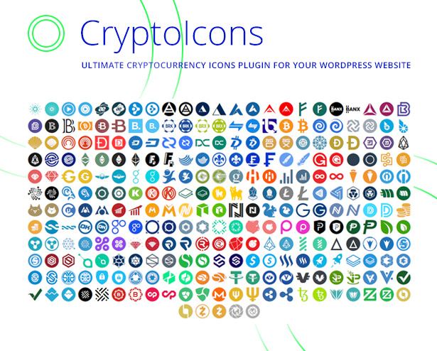 CryptoIcons - Ultimate Cryptocurrency Icons Kit - 1