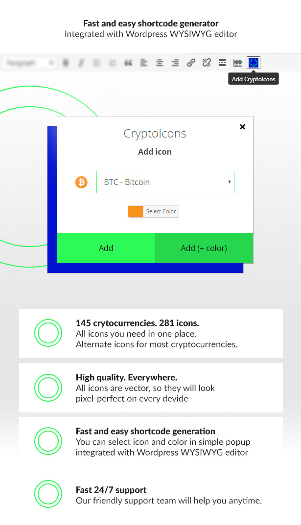 CryptoIcons - Ultimate Cryptocurrency Icons Kit - 3