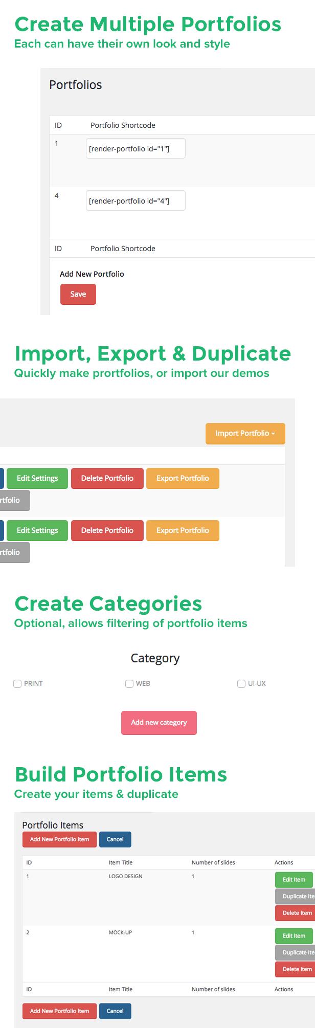Union Portfolio - A Premium WordPress Plugin - 4