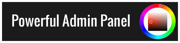 admin panel