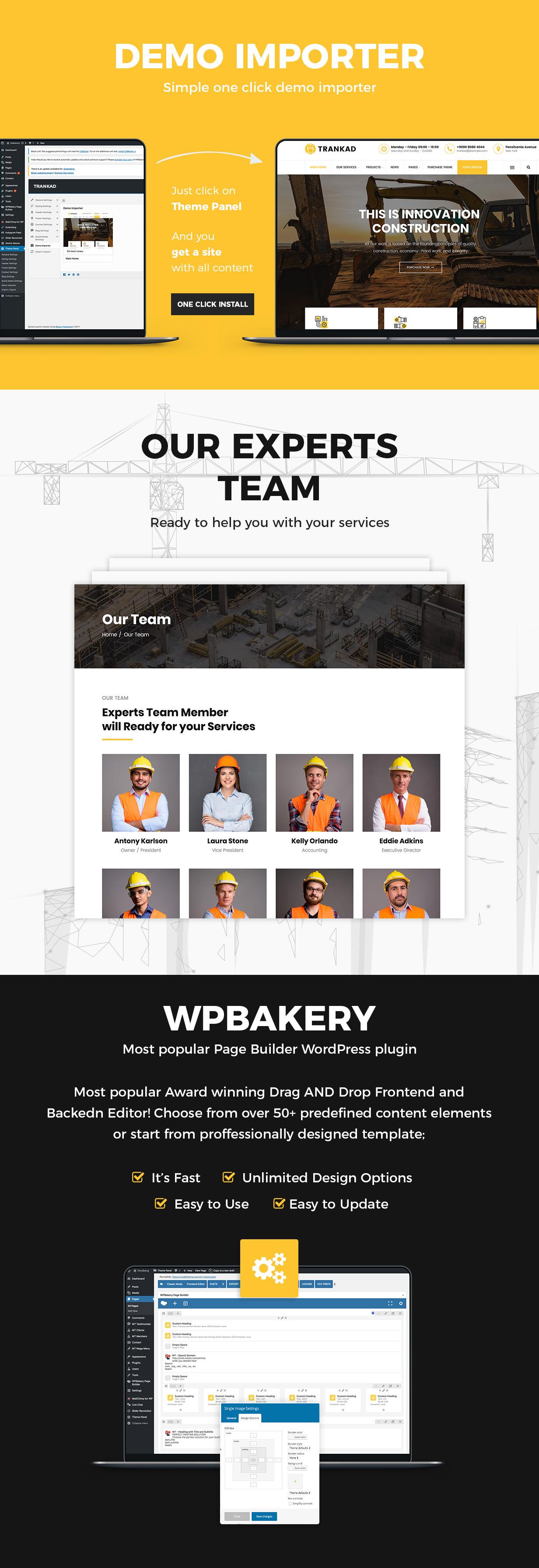 Trankad - Construction WordPress Theme - 9