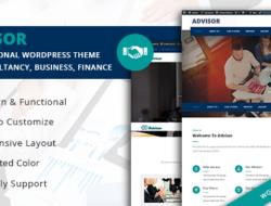 Advisor  – Startup Business & Digital Marketing WordPress Theme