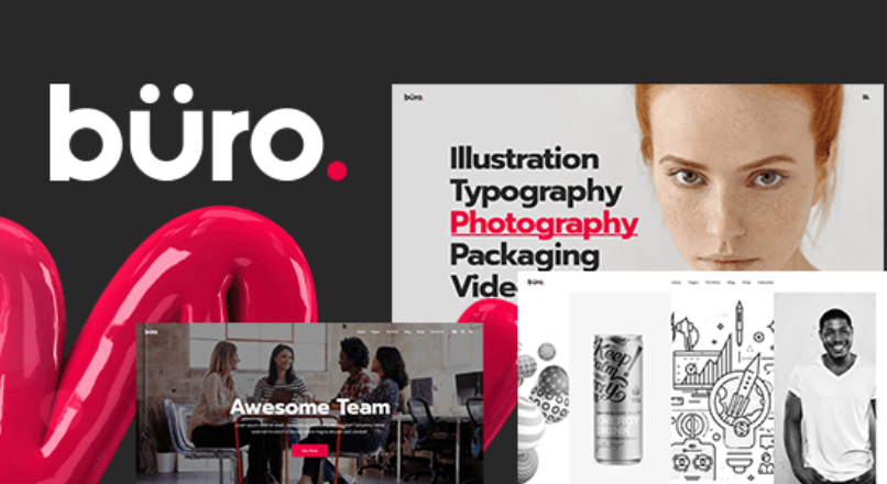 Büro – Creative Agency and Freelancer Theme