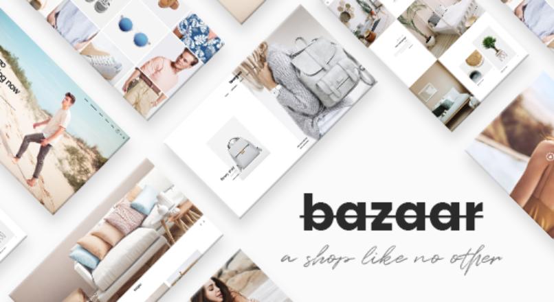 Bazaar – eCommerce Theme