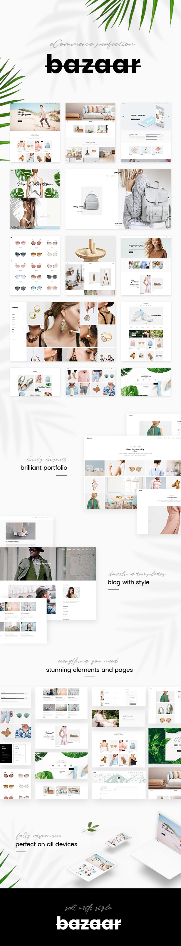 Bazaar - eCommerce Theme - 1
