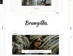 Brungilda – Photography WordPress theme