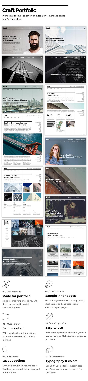 Craft Portfolio - Architecture & Design - 1