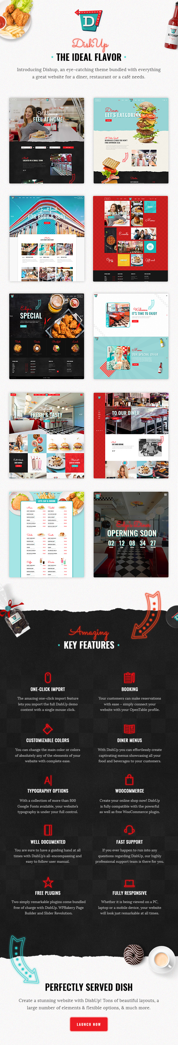 DishUp - Restaurant Theme - 1