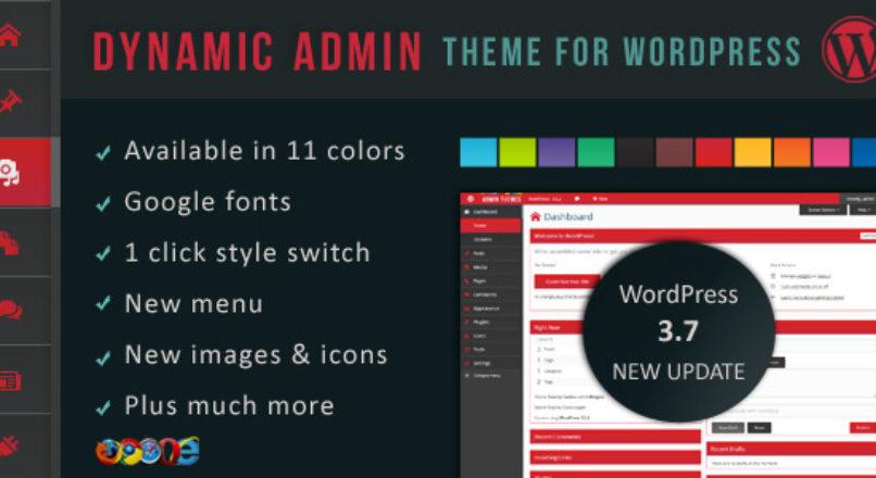 Dynamic Admin Theme for WordPress