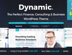 Dynamic – Finance and Consulting Business WordPress Theme