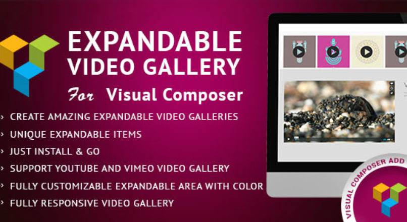 Expandable Video Gallery Visual Composer AddOn
