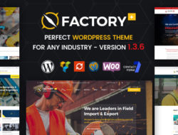 Factory Plus – Industry and Construction WordPress Theme