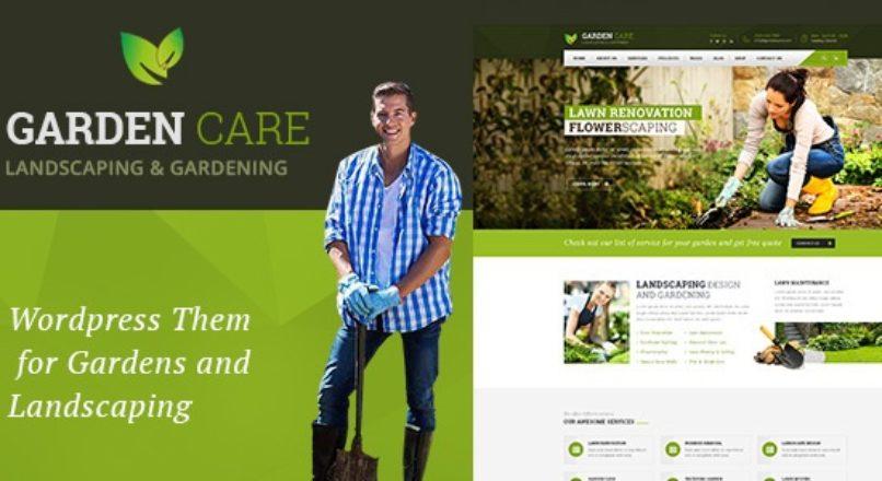 Garden Care – Gardening and Landscaping WordPress Theme