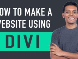 How To Create A WordPress Website – Divi Theme