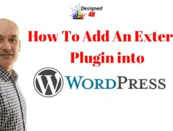 How To Upload An External Plugin In To WordPress