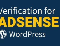How to Add Adsense Verification Code to WordPress Site (2019)