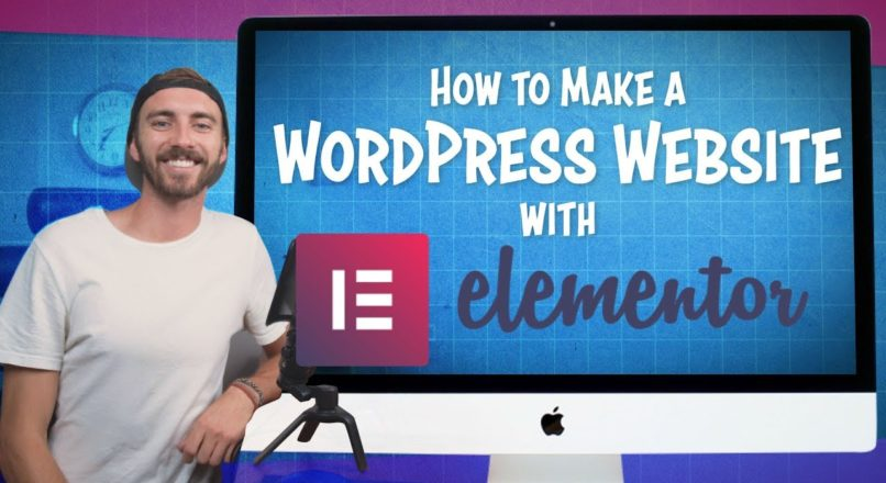 How to Make a WordPress Website with Elementor | 2019 (Elementor Tutorial)