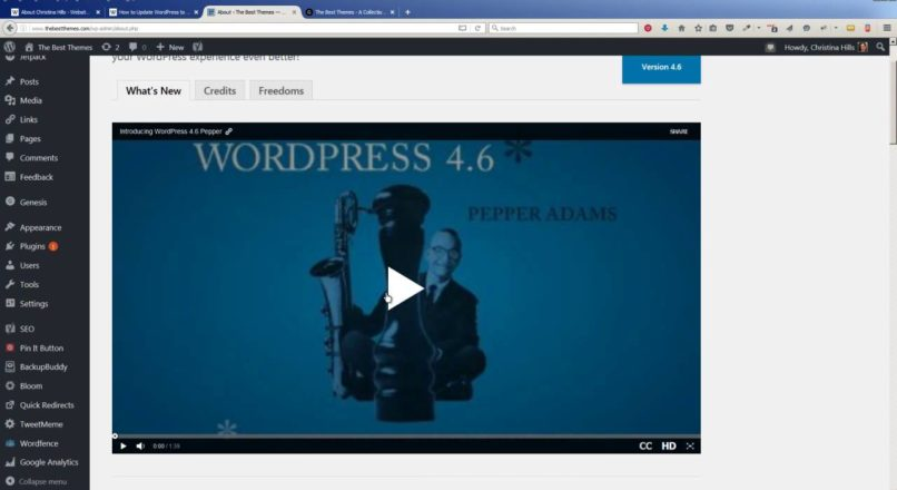 How to Update to WordPress to Version 4.6