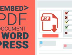 How to Upload PDF to WordPress Page?