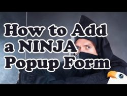 How to add a Ninja Opt-In Popup to WordPress