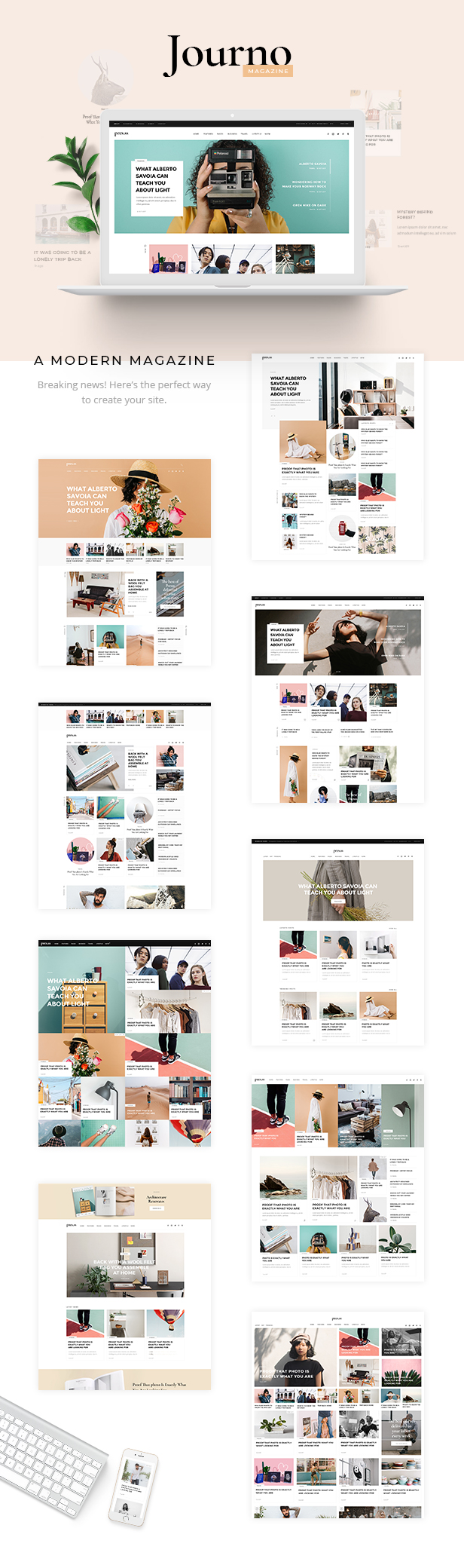 Journo - Creative Magazine & Blog Theme - 1