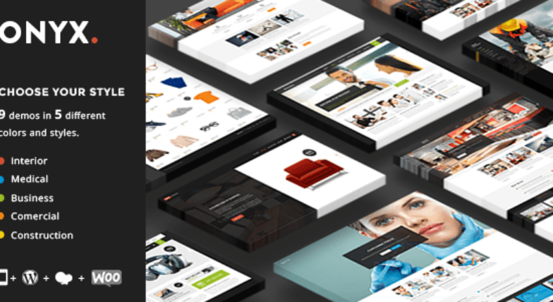 Onyx – Multi-Concept Business Theme