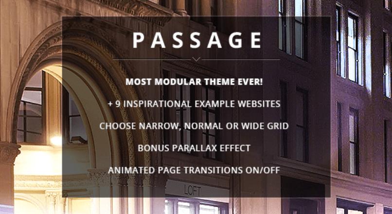Passage – Responsive Retina Multi-Purpose Theme