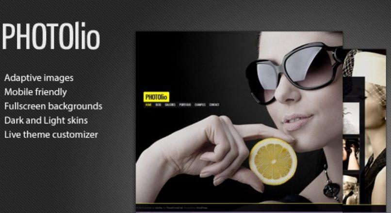 Photolio – Photography Gallery Theme for WordPress