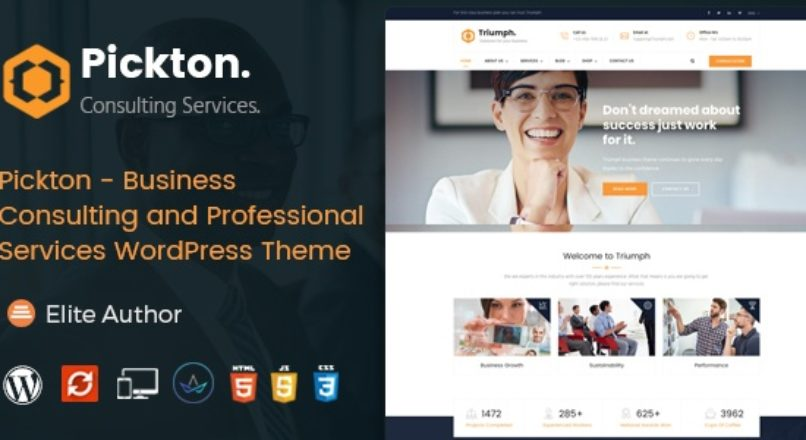 Pickton – Consulting WordPress Theme