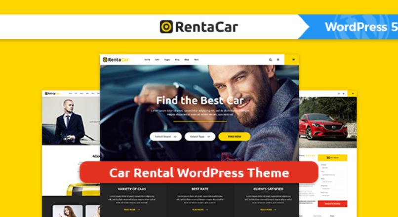 Rentacar – Car Rental / Listing WordPress Theme