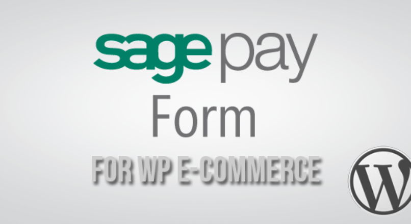 SagePay Form Gateway for WP E-Commerce