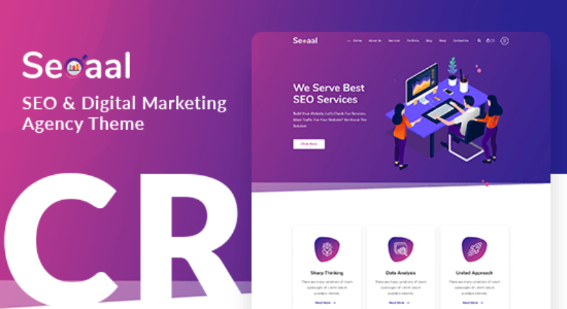 Seoaal – SEO & Digital Marketing WordPress Theme