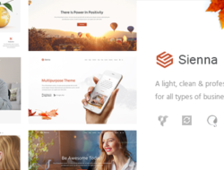 Sienna – Professional Business Theme
