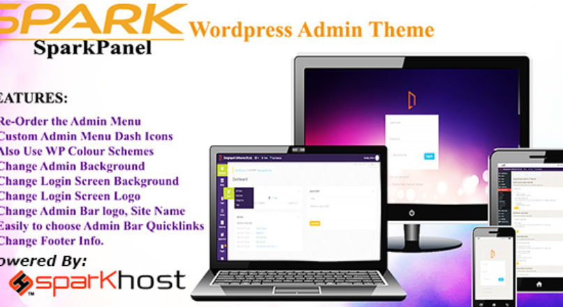 SparkPanel Worpress Admin Theme
