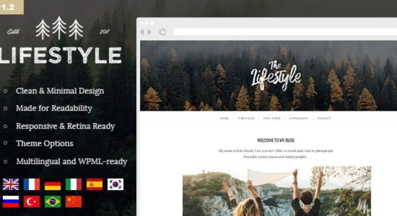 The Lifestyle – Vintage & Simple WordPress Blog Theme