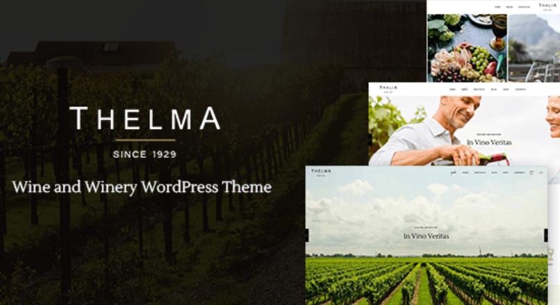 Thelma – Winery Theme